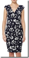 Lauren Ralph Lauren print stretch jersey dress