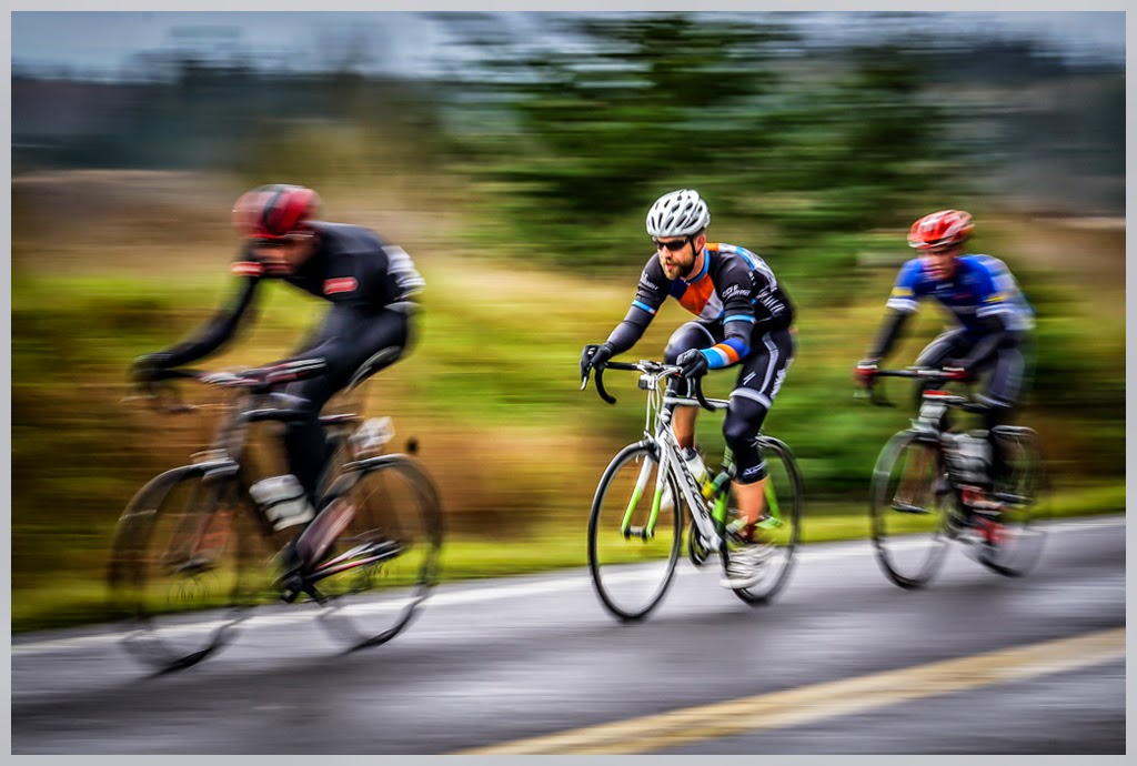 """Featured Bike Racer"" by Tim Snyder - 2nd Place General M"