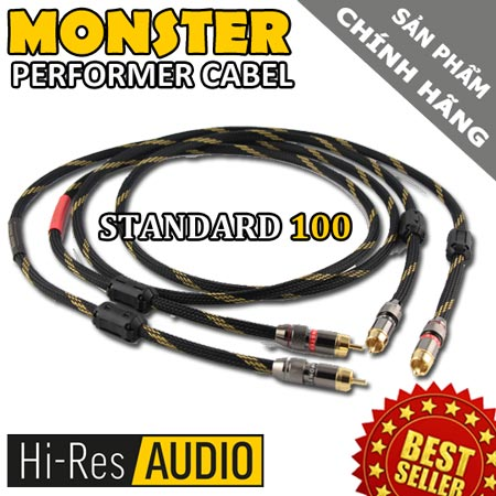 day tin hieu audio monter standar 100