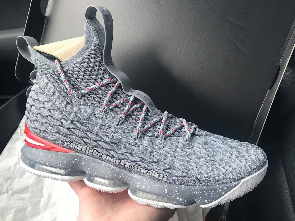 online retailer 74238 4c63b There's a Third Version of the Nike LeBron 15 'Ohio State ...