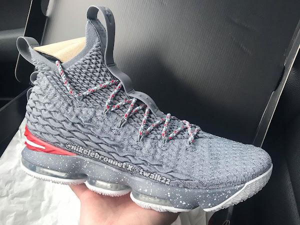 Theres a Third Version of the Nike LeBron 15 Ohio State PE in Grey
