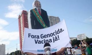Protestos contr ao governo Bolsonaro em todo país