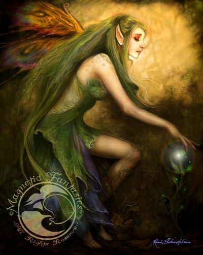 Web Pic Green Magic, Green Witches