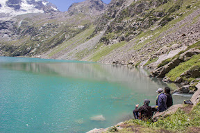 Time spend on the Katora Lake, observing the beauty and calmness at the place, Katora Lake, Upper Dir