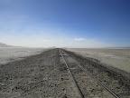 Train tracks to nowhere.