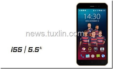 Advan i55, Ponsel 4G LTE dengan Layar 5,5 Inci