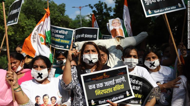Fourth day of Protests After 9-year-old girl Allegedly Raped and Murdered in Indian capital