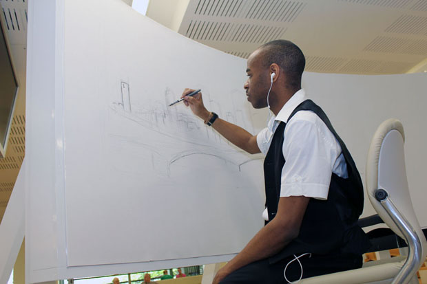 Stephen Wiltshire Draws Brisbane from Memory