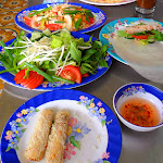 "Besides the best company at ""Hoa's Place,"" we also had the best spring rolls on earth - Da Nang, Vietnam"