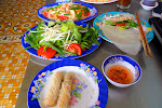 """Besides the best company at """"Hoa's Place,"""" we also had the best spring rolls on earth - Da Nang, Vietnam"""