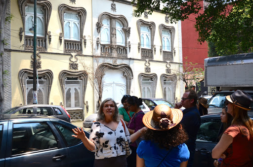 Tour Colonia Roma. From Go Eat Give combines travel, food, and volunteering