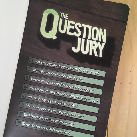 The Question Jury, example questions