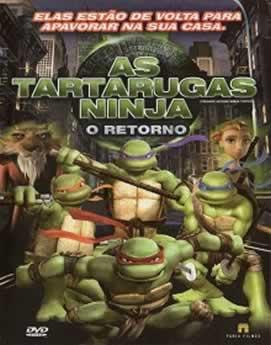 Capa As Tartarugas Ninja: O Retorno Dublado 2007 Torrent