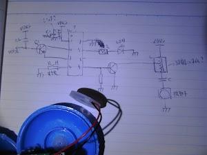 超音波加湿器の回路