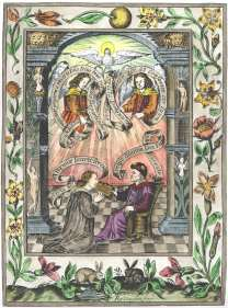 Engraving 1 From Norton Ordinall In Ashmole Theatrum Chemicum Britannicum 1652, Alchemical And Hermetic Emblems 2
