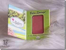 Balm Springs Blush Opened (Flutterbye Chronicles)