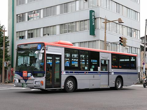 新潟交通 萬代橋線BRT ・887 三菱エアロスターノンステップ(QKG-MP38FM)