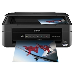 How to reset flashing lights for Epson TX230 printer
