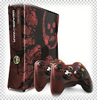 Gears of War 3 console and gamepad