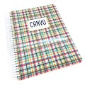 Hip Plaid Canvo Journal