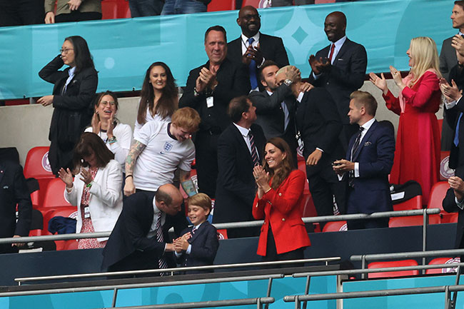 Prince George Has Royal Fans Saying the Same Thing After Wembley Appearance with Mum Kate Middleton