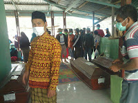 7 Orang Korban Awan Panas Gunung Sinabung