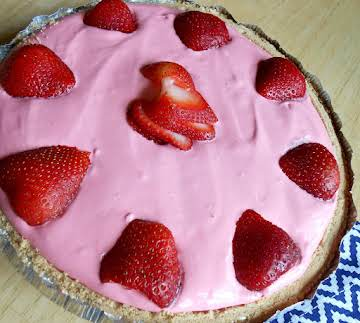 Strawberry Kool-Aid Pie
