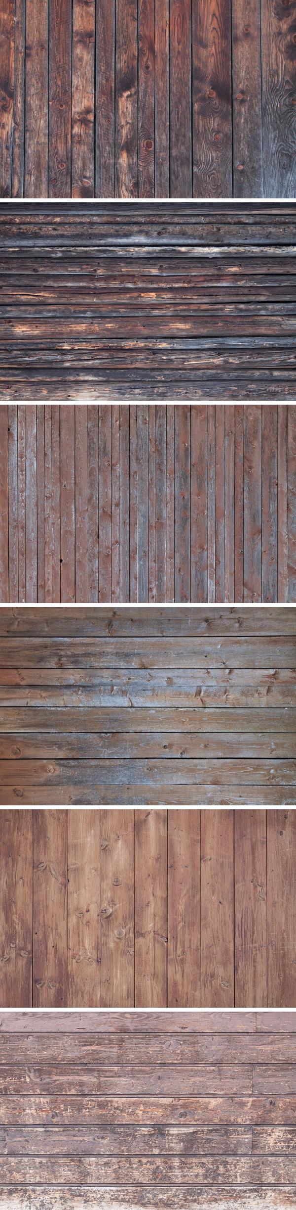 Free 6 Vintage Wood Textures Vol.4