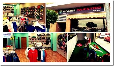 Padel Nuestro abre su primera tienda en la ciudad de Málaga.