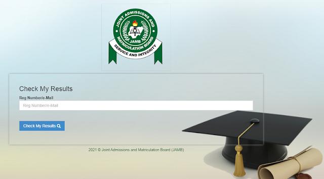 UTME 2020 Results online