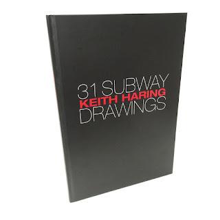 Keith Haring: 31 Subway Drawings RARE Book