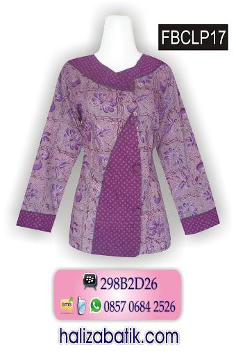 blus batik terbaru, pekalongan batik, baju model