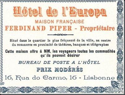 1898 Hotel de L'Europa
