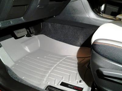 2016 Subaru Crosstrek driver's side WeatherTech floor mats