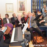 Boekuitreiking aan nabestaanden communistische verzetsstrijders Pekela - Foto's Abel van der Veen