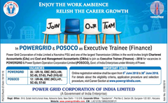 POWERGRID POSOCO Advertisement 2018 www.indgovtjobs.in