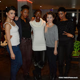 WWW.ENTSIMAGES.COM -  Models -  Viera Vienna, Apithanie Fraser, Armande Meyo, Emma Thomas and Natalie Nwagbo  at       Bloggers love Fashion Party at Penthouse Leicester Square September 17th 2013                                             Photo Mobis Photos/OIC 0203 174