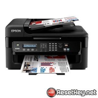Reset Epson WorkForce WF-2528 printer Waste Ink Pads Counter