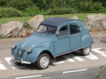 Citroën 1959 2 CV AZLP bleu glacier