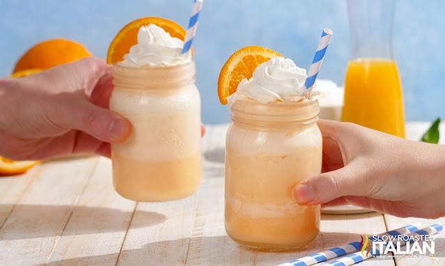 orange shake 2 toasting