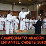 CAMPEONATO ARAGÓN INFANTIL CADETE 2010