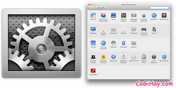 hình 1 xóa apple id trên mac