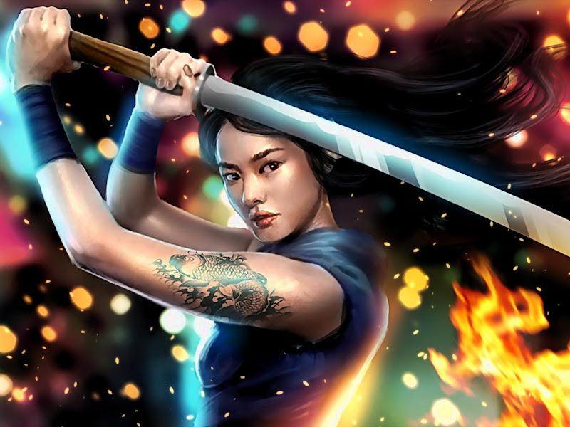 Sword Samurai, Magic Samurai Beauties