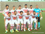 L'équipe de Zamālek de l'Egypte lors du match contre l'As.V Club de la RDC le 18/05/2014 au stade Tata Raphael à Kinshasa, dans le cadre de la ligue des champions 2014 de la CAF. Radio Okapi/Ph. John Bompengo