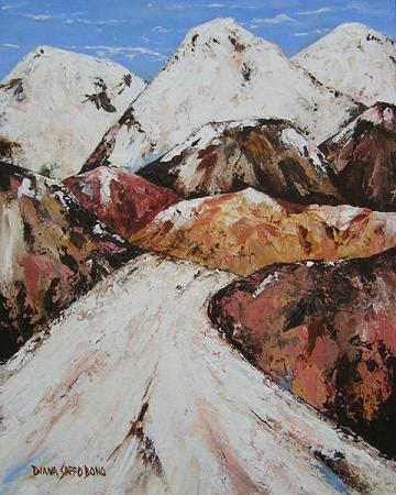 """Untamed, Undaunted Utah"" by artist Diana Saffo Bono."
