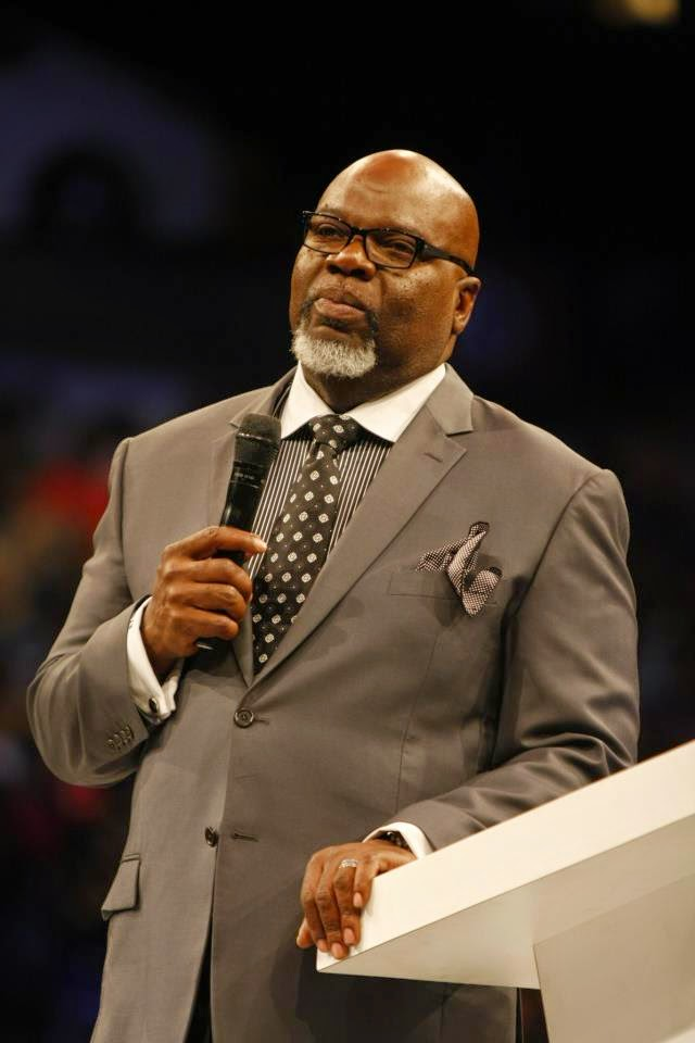 Audio message: Topic: Dry places: By Bishop T D  Jakes