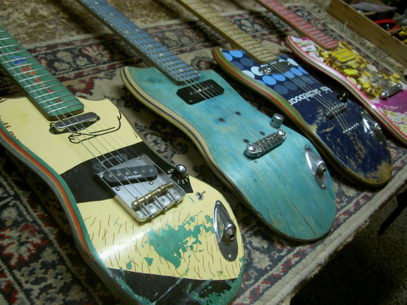 *Skate Guitar 回收再生:電音滑板吉他! 11
