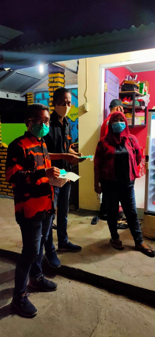Sambut Ramadhan SAPMA PP Batu Bara Sosialisasi 3M di Tempat Karaoke dan Hiburan