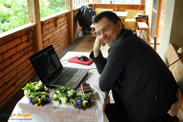 Maciej poluje na inspiracje w naszym regionalnym centrum dowodzenia