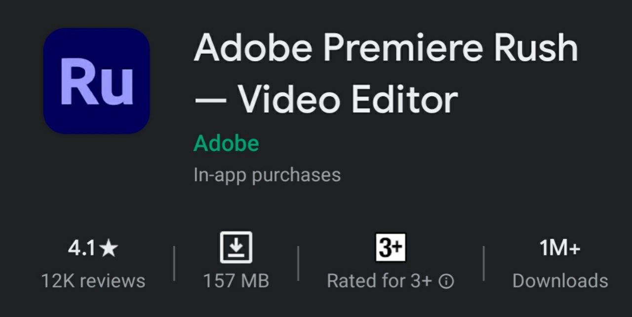 Best video editing application for Android and iOS